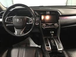 2016 honda civic sedan touring sunroof navigation leather 19026792