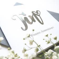 Tin 10th Wedding Anniversary Card Shop Online Hummingbird Card