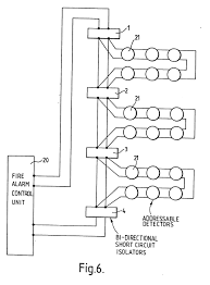 Sprinkler flow switch wiring diagram for simple fire alarm system
