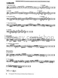 French Horn Scales Finger Chart Complete B H Horn Scales Book