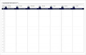 Free Printable Work Schedule Calendar Hourly Work Schedule Template Bookmylook Co