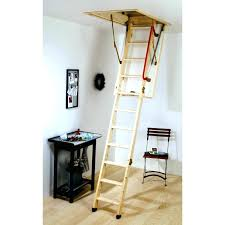 wooden loft ladders sliding with handrail s line ladder
