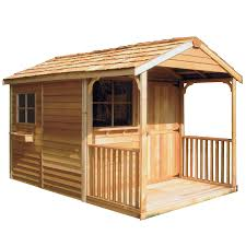 Small Picture Shop Cedarshed Common 8 ft x 12 ft Interior Dimensions 733 ft