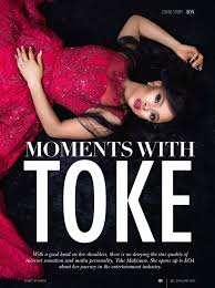 toke makinwa is the cover star of south africa s essays of africa toke makinwa essays magazine 2
