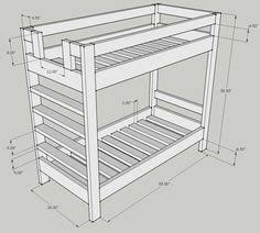 Bunk Bed Plans B93 About Perfect Bedroom Decoration DIY with Bunk Bed Plans