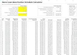 Amortization Schedule Annual Payments Loan Calculator Payment Bi ...