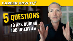 Questions To Ask At Job Interview My Top 5 Questions To Ask In A Job Interview