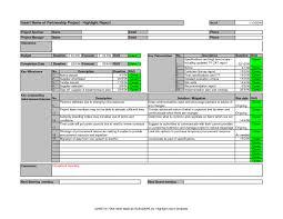 Project Management Financial Reporting Templates Goal Goodwinmetals