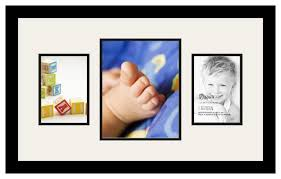 Get Quotations  ArtToFrames Collage Photo Frame Double Mat with 1 - 8x10  and 2 - 5x7 Openings and
