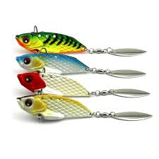 <b>Hengjia</b> 20g/6cm Metal <b>VIB Fishing</b> Lure <b>Fishing Spoon</b> Wobbler ...