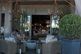 ... Foxy Image Outdoor Living Space Decoration Using Restoration Hardware  Outdoor Furniture : Foxy Outdoor Living Room