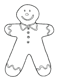 Gingerbread Man Story Coloring Pages Printable Characters Felt