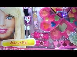 barbie makeup kit pretty in pink