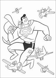 Superman 2 hero coloring page. Superman Coloring Pages For Boys Printable Bestappsforkids Com