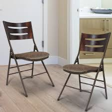 features romantic space saving folding. Tubular Steel Folding Chair (Set Of 2) Features Romantic Space Saving