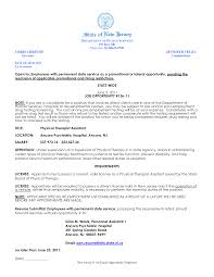 Therapist Resume Examples Therapy Samples Physical Assistant