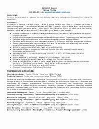Amazing Best Resume For Property Manager Pictures Inspiration