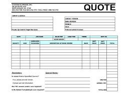 Price Quote Form Cool Price Quote