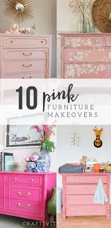 painted furniture colors. 10 pink painted furniture makeovers colors