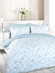french blue toile bedding.  French Signature Home French Bird Toile Duvet Cover Set With Pillowcases Blue  King Size By Throughout Blue Bedding
