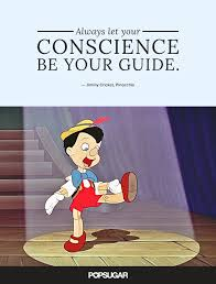 Small Picture Always let your conscience be your guide Best Disney Quotes