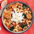 spicy  pasta fagioli