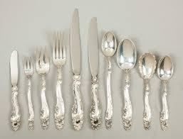 Gorham Sterling Patterns Impressive Gorham Sterling Silver Flatware Décor Pattern Cottone Auctions