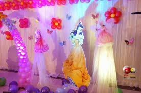 Princess Balloon Decoration Aicaevents India Princess Theme Birthday Decorations
