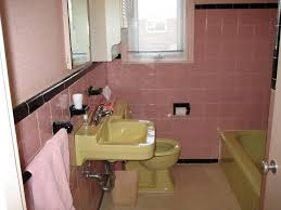Mississauga Julia\u0027s 1956 pink, black - and chartreuse? - bathroom ...