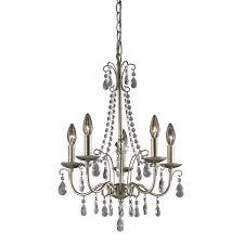 sterling antique silver chandelier in silver clear silver chandeliers