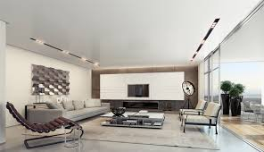 fantastic modern house lighting. Contemporary Living Room With Track Lighting Fantastic Modern House I