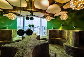 google tel aviv campus. if i had to use a couple of words describe google israel office in tel aviv would colorful fun and interesting sure there are some which seem campus