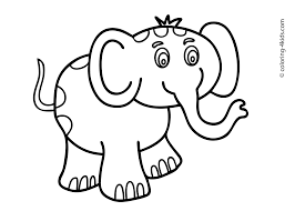 Animal Printable Colouring Pages With Childrens Coloring Books
