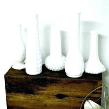 milk glass vase white milk glass vase large milk glass vases eclectic vase collection white vintage milk glass vase
