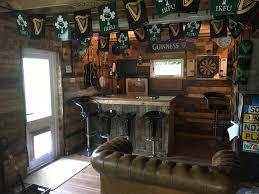 Bar Made Out Of Pallets Pallet Garage Bar Mancave O Pallet Ideas O 1001 Pallets