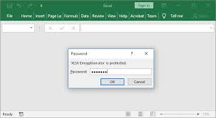 Encrypted Excel Files Excel Encryption From Java Applications