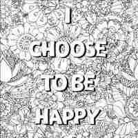 Free Coloring Page Growth Mindset Art Is Basic