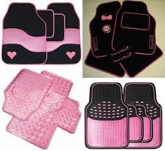 girly car floor mats. Exellent Floor Pink Car Mats Inside Girly Floor I