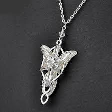 arwen evenstar pendant with silver