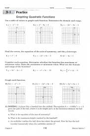 quadratic function standard form gallery form example ideas graphing parabolas equations worksheet answers jennarocca graphing quadratic