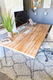 having trouble finding the perfect desk take these easy steps to build your own butcher