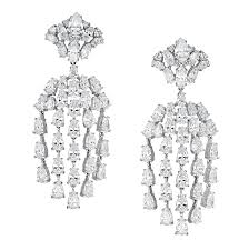 annabelle omega clip chandelier earrings ciro jewelry annabelle collection is a striking modern jewelry collection