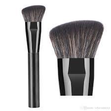 professional contour makeup brush anlged flat contouring sculpting powder foundation primer base bronzer highlighter shadow make up brush natural makeup