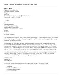 Assistant Manager Cover Letter Sample Assistant Manager Cover Letter ...