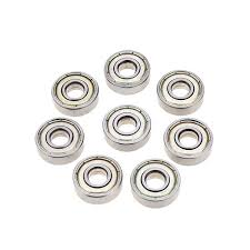 skateboard bearings install. 8pcs abec-7 dustproof skateboard bearings install component parts