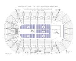 Resch Center Seating Chart With Seat Numbers Resch Center Seating Chart Seating Chart