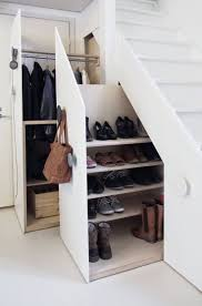25+ Fabulous Built-in Storage Ideas to Maximize Your Living Space. Closets Under  Stairs for Coats and Shoes