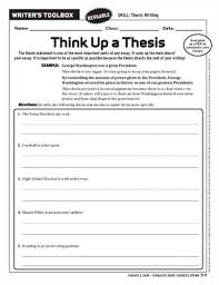 Teaching Thesis Statements with Lesson Ideas   ELA Common Core