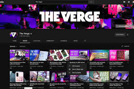 YouTube's desktop site is now more touchscreen-friendly - The Verge
