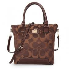 Coach Legacy Tanner In Monogram Small Coffee Crossbody Bags BUI